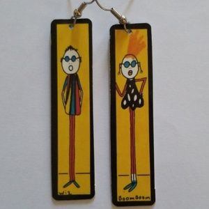 Boom Boom Wiz Earrings